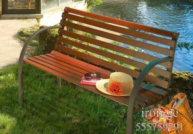 Как сделать скамейку во двор